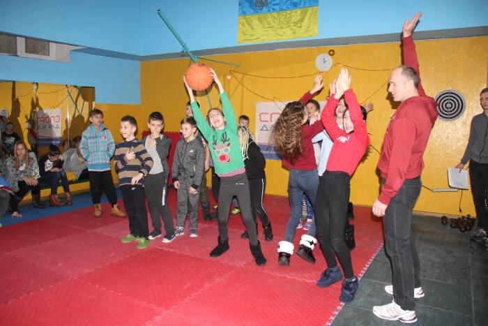 «Новорічне свято спорту» для дітей центрального мікрорайону міста