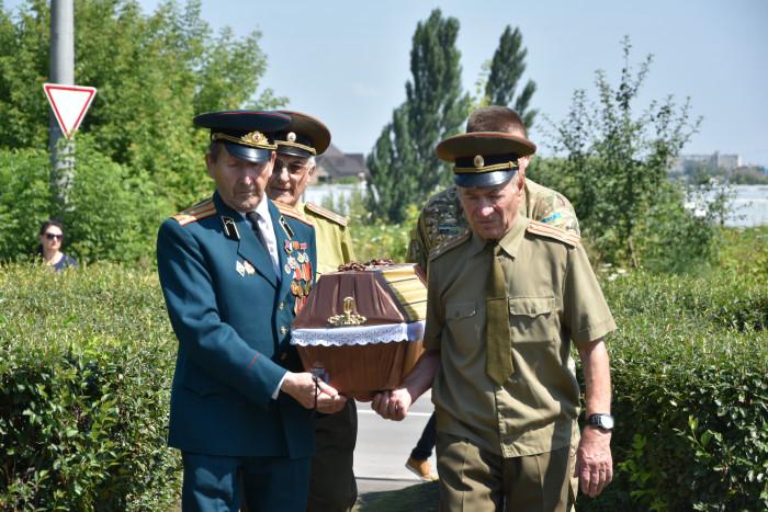 Відбулось перепоховання останків та вшанування пам'яті невідомого солдата
