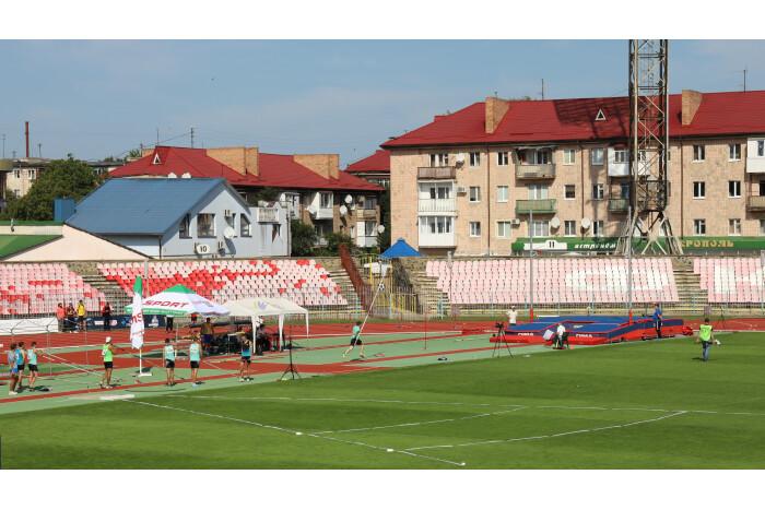 У Луцьку стартував чемпіонат України з легкої атлетики