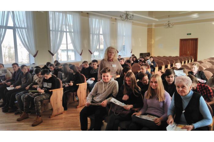 Для учнів ЗОШ № 15 провели ознайомлення з правилами вибору професії