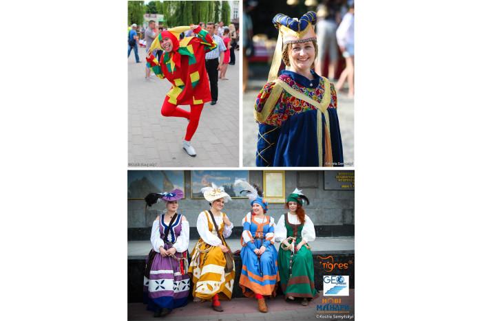 """Конкурс на найкраще середньовічне вбрання в рамках фестивалю """"Князівський бенкет"""""""