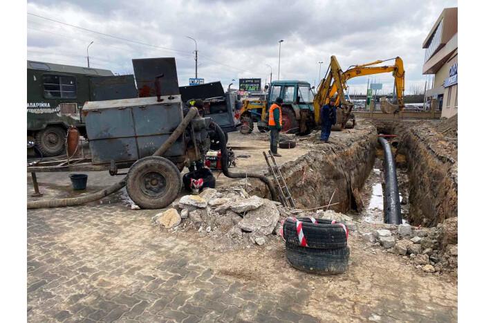 Працівники «Луцькводоканалу» завчасно ліквідували аварійну ситуацію, через яку лучани могли лишитись без води
