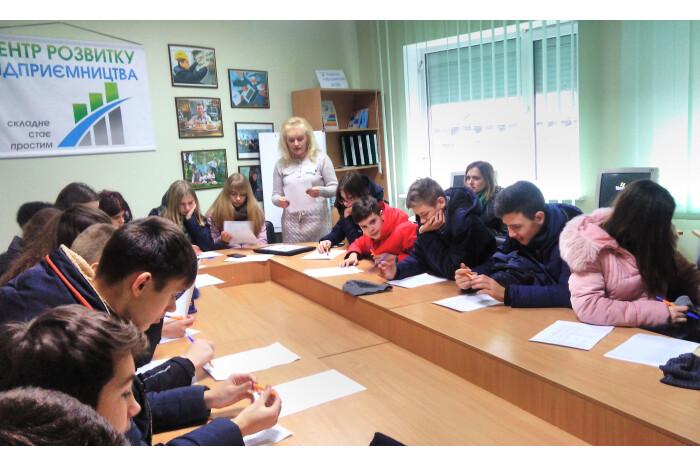 Луцьких школярів навчали профорієнтації