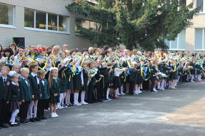 У школах міста Луцька відзначають 1 вересня