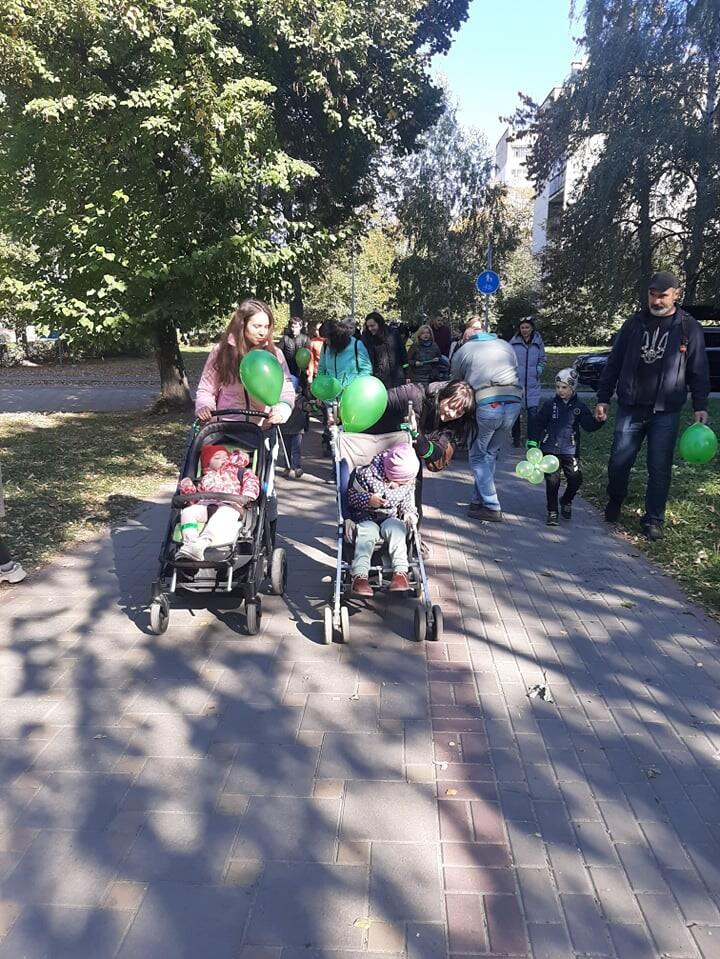 у Луцьку пройшла хода на підтримку хворих на ДЦП