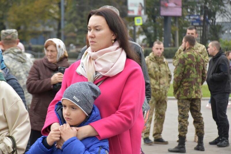 Лучани вшанували пам'ять військових, які загинули в АТО/ООС. Фото